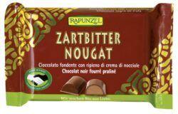 Rapunzel Zartbitter Nougat Schokolade HIH 100g