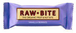 Raw Bite Fruchtriegel Vanilla Berries glutenfrei 12x50g