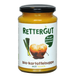 Rettergut Bio-Kartoffelsuppe mit Lauch 6x375ml