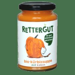 Rettergut Bio-Kürbissuppe mit Kokos 6x375ml