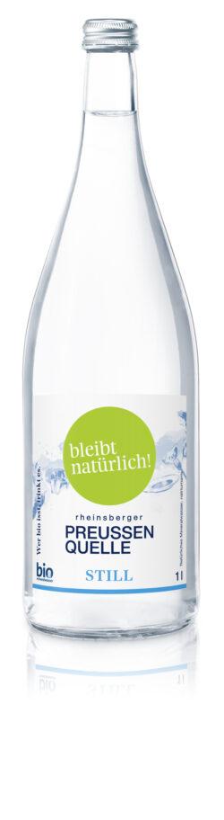Rheinsberger PreussenQuelle bleibt natürlich - Bio Mineralwasser still 6x1l