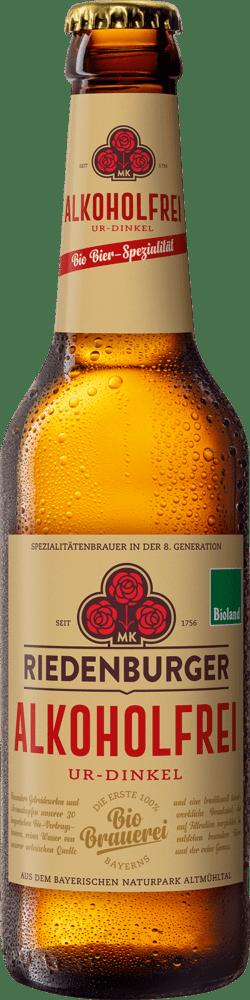 Riedenburger Brauhaus Alkoholfreies Dinkel 10x0,33l