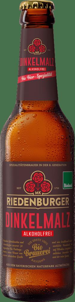 Riedenburger Brauhaus Dinkel-Malz alkoholfrei 10x0,33l