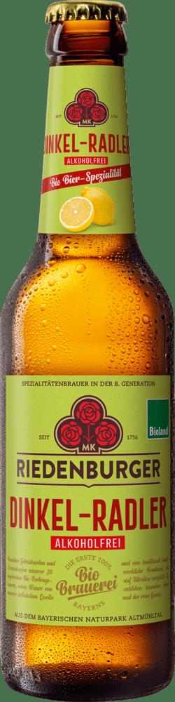 Riedenburger Brauhaus Dinkel-Radler alkoholfrei 10x0,33l