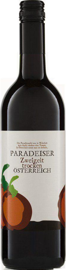 Riegel Bioweine PARADEISER Zweigelt QW 6x0,75l