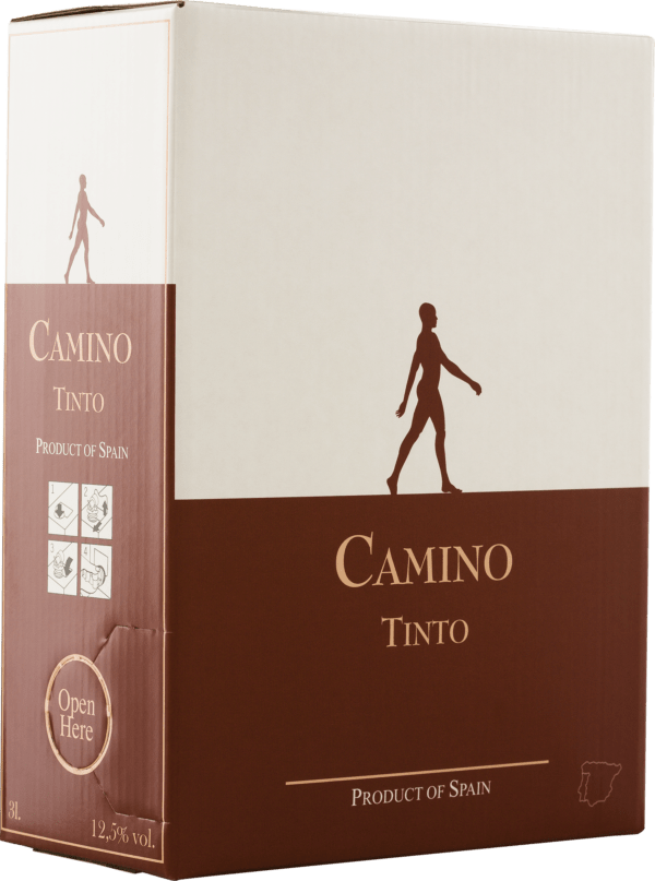 Riegel Eigenmarke CAMINO Tinto Bag in Box 3l