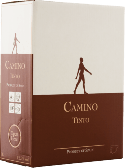 Riegel Eigenmarke CAMINO Tinto Bag in Box 4 x 3l