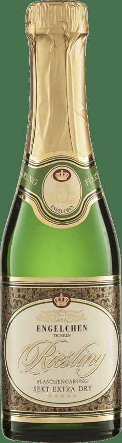Riegel Eigenmarke ENGELCHEN Rieslingsekt extra-dry Piccolo Flaschengärung 12x0,2l