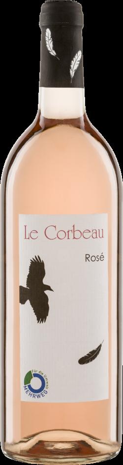 Riegel Eigenmarke LE CORBEAU Rosé IGP 6x1l