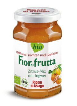 Rigoni di Asiago S.R.L.  Fiordifrutta Bio Citrus-Ingwer-Mix-Aufstrich 6x260g