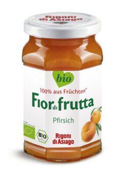 Rigoni di Asiago S.R.L.  Fiordifrutta Bio Pfirsich-Aufstrich 6x250g