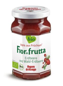 Rigoni di Asiago S.R.L.  Fiordifrutta Bio Erdbeeren- und Walderdbeeren-Aufstrich 6x250g
