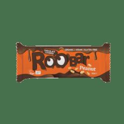 Roobar Erdnuss mit Schokoladenüberzug, 30g, glutenfrei 16x30g