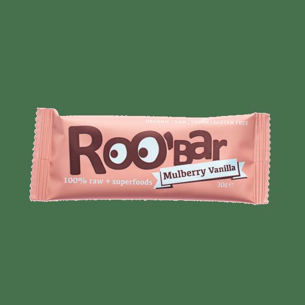 Roobar Mulberry & Vanilla 30g, glutenfrei 20x30g