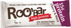 Roobar Protein Cherry and Maca, 60g, glutenfrei 10x60g