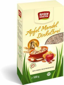 Rosengarten Apfel-Mandel-Dinkelbrei 6x500g