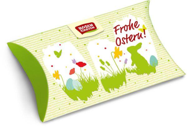 Rosengarten Frohe Ostern! Nougat Pralinen im Geschenkkarton 8x45g
