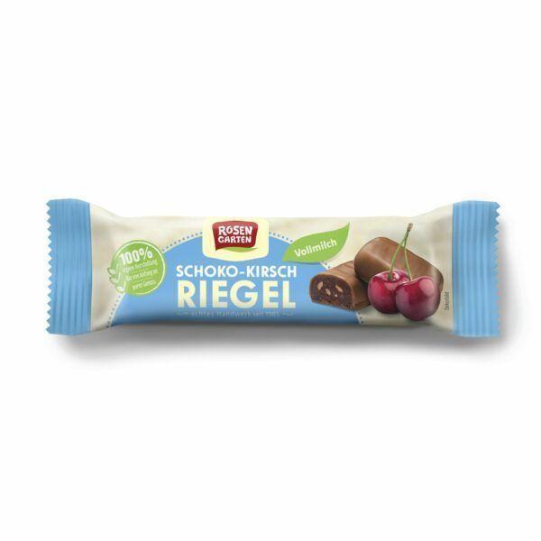 Rosengarten Kirsch-Riegel in Vollmilchschokolade 18x34g