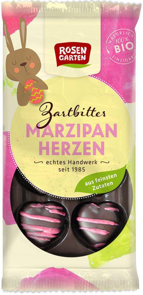 Rosengarten Marzipan-Herzen 6x65g