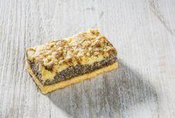 Rosengarten Mohn-Kuchenschnitte 18x95g