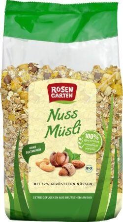 Rosengarten Nuss-Müsli 4x2kg