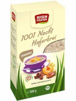 Rosengarten Porridge 1001-Nacht-Haferbrei 6x500g