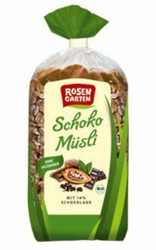 Rosengarten Schoko-Müsli 750g