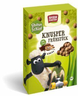 Rosengarten Shaun das Schaf - Knusper-Frühstück Kakao 6x325g