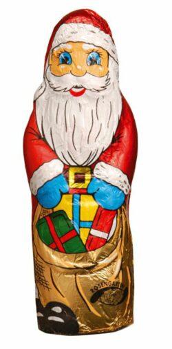 Rosengarten Vollmilch-Weihnachtsmann in Stanniol-Papier 12x50g