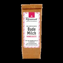 Rosenrot Naturkosmetik Bademilch Mandelblüte - Die enthaltene Mandelmilch zaubert ein seidiges Hautgefühl. 150g