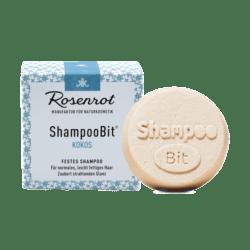 Rosenrot Naturkosmetik festes ShampooBit® Kokos - 55g - in Schachtel 55g