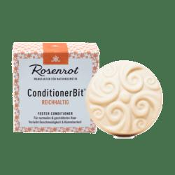 Rosenrot Naturkosmetik ConditionerBit® - Reichhaltig - 60g - in Schachtel 60g