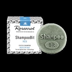 Rosenrot Naturkosmetik festes ShampooBit® MEN Nordwind - 55g - in Schachtel 55g