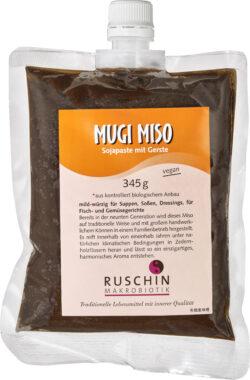 Ruschin Makrobiotik Mugi Miso, Sojapaste mit Gerste 6x345g