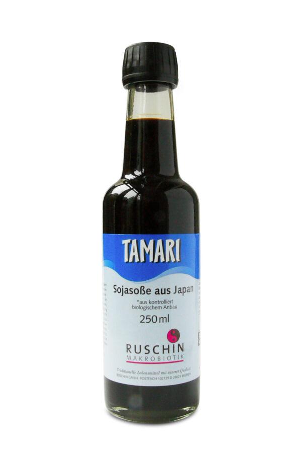 Ruschin Makrobiotik Tamari, Sojasoße aus Japan 12x140ml
