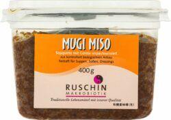 Ruschin Mugi Miso, mit Gerste, unpasteurisiert 6x400g