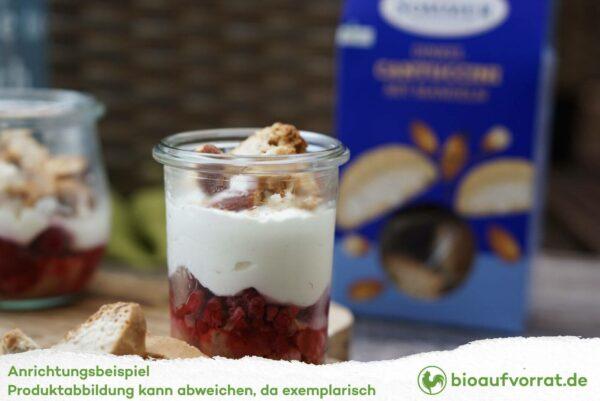 SOMMER Cantuccini Dinkel Rezeptidee mit Joghurt