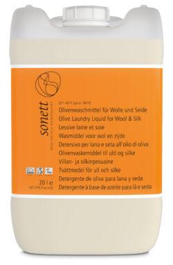 SONETT Olivenwaschmittel für Wolle und Seide 20-40°C 20l