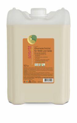 SONETT Olivenwaschmittel für Wolle und Seide 20° 30° 40°C 10l