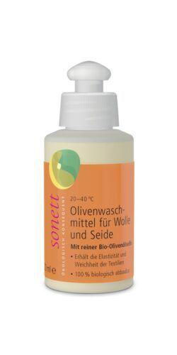 SONETT Olivenwaschmittel für Wolle und Seide 20° 30° 40°C 15x120ml