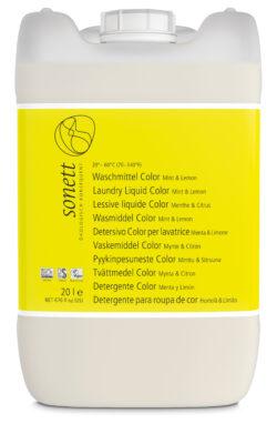 SONETT Waschmittel Color Mint & Lemon 20-60°C 20l