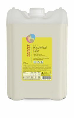 SONETT Waschmittel Color Mint & Lemon 30° 40° 60°C 10l