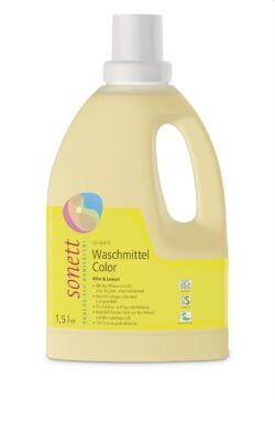 SONETT Waschmittel Color Mint & Lemon 20–60 °C 1,5l