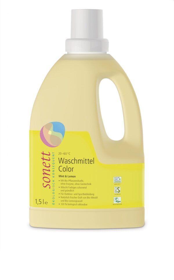 SONETT Waschmittel Color Mint & Lemon 20-60°C 1,5l