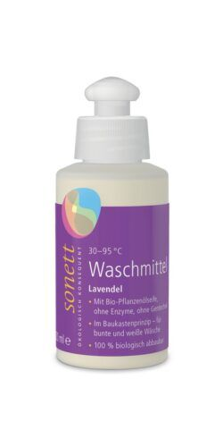 SONETT Waschmittel Lavendel 30 –95°C 15x120ml