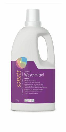 SONETT Waschmittel Lavendel 30 –95°C 6x2l