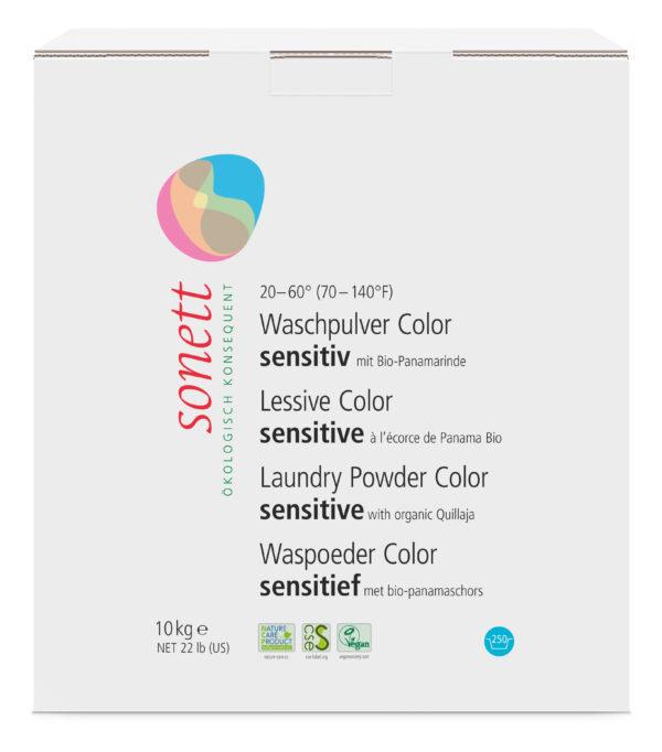 SONETT Waschpulver Color sensitiv 20-60°C 10kg