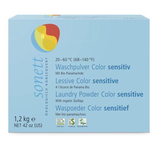 SONETT Waschpulver Color sensitiv 20–60 °C 1,2kg