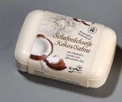 Saling Schafmilchseife Kokos/ Sahne mit Banderole 12x100g