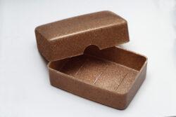 Saling Seifendose Terralene, recyclebar, nachwachsender Rohstoff 6x1Stück